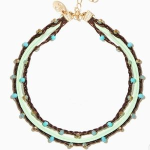 Clary Pebbled Choker Necklace